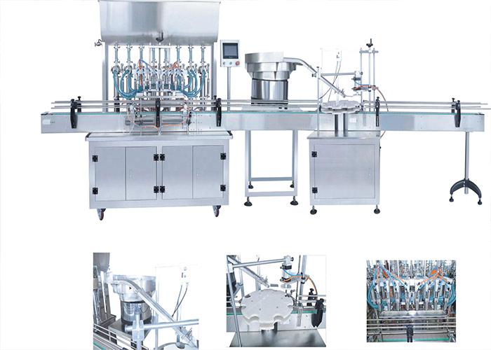 灌装机生产线