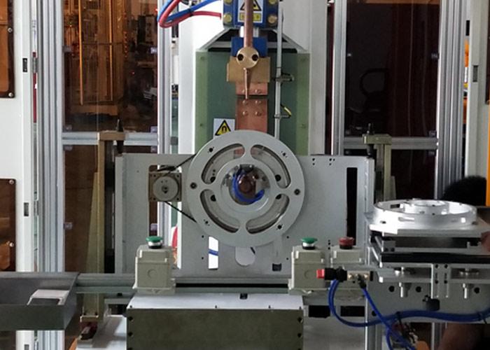 卡箍自动组装焊接机